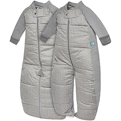 Sacchetto Ergo 2-in-1, sacco a pelo bambino Unisex & completo in cotone organico, 3,5 TOG Inverno - Bambù Passeggino