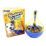 Paor Cat Dog tumbler Treat Ball food dispenser giocattolo Pet fuoriuscita feeder sfera con campanelle