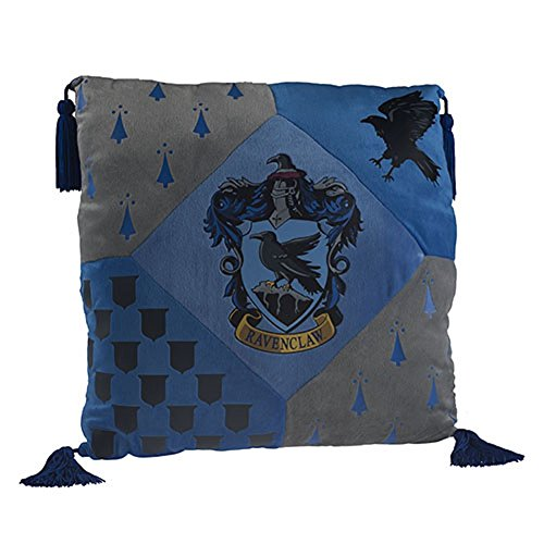 Harry Potter Ravenclaw House cojín producto oficial de Warner Bros, Studio Tour negro de Londres