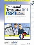 Personal Translator PT 2004 Home Deutsch/Französisch