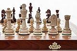 Turnier 4 - große 38cm/15 In Handarbeit aus Holz Schachspiel Staunton professionelle...