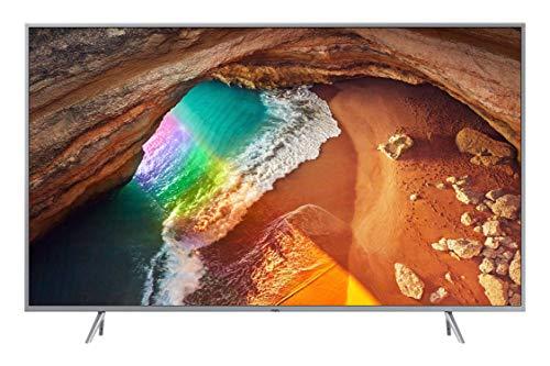 Samsung QE55Q64RATXZT Serie Q64R QLED Smart TV 55', Ultra HD 4K, Wi-Fi, Silver, 2019 [Esclusiva Amazon]