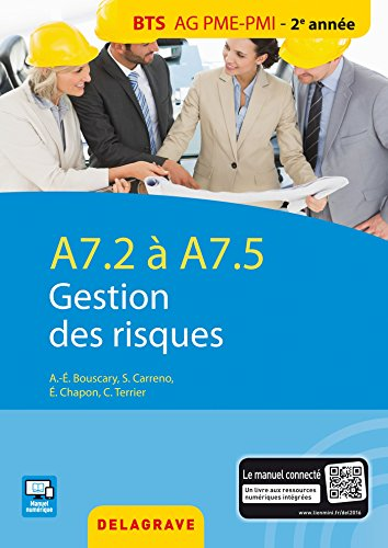 A7.2/A7.5 gestion des risques : BTS AG PME-PMI élève
