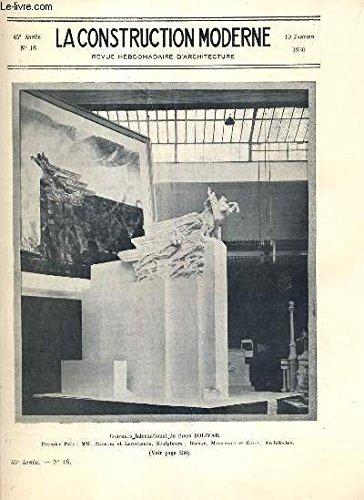 la-construction-moderne-45e-volume-1929-1930-fascicule-n16-le-concours-international-simon-bolivar-l