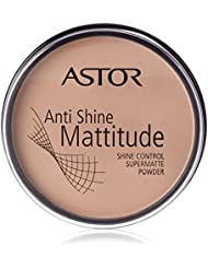 Astor - Anti shine mattitude polvos matificantes, tono nude beige 3 ( 15 g)