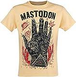 Mastodon Tattooed Hand Camiseta Amarillo XL