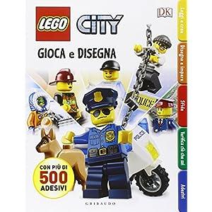 Gioca e disegna. Disegna e crea. Lego city. Con adesivi. Ediz. illustrata: Lego City - Gioca e disegna 9788858012659 LEGO