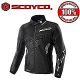 Scoyco JK28-2 Bike Protective CE Certified Jacket-Black Size-40