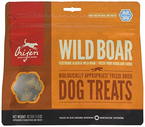 Orijen Wild Boar Dog Treat, 42.5 g