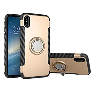 ANDAY iPhone 8Plus, iPhone 7Plus Hybrid Dual Layer Case with 360Degree Fingerhalterung Stand Impact Protection Hard Soft TPU Bumper Case Cover for iPhone 7/8/Plus 5.5