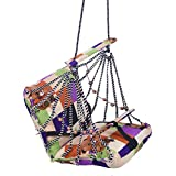 Aashi Enterprise A & E Comfortable Multi Color Cotton Swing For Kids Babys Childrens Folding And Washable 1 -4 Years Swing Chairs