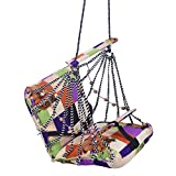 #2: A & E Comfortable Multi Color Cotton Swing for Kids babys childrens folding and washable 1 -4 years