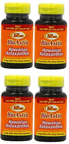 BioAstin 4 x 50 Kapseln à 12 mg ORIGINAL AUS HAWAII