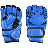 IRIS Boxing Gloves MMA UFC Sparring Grappling Fight Punch Mitts PU Leather Training Gloves