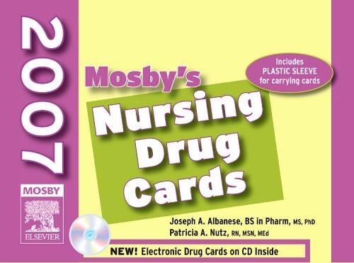 Mosby's 2007 Nursing Drug Cards (Nursing Cards Drug)
