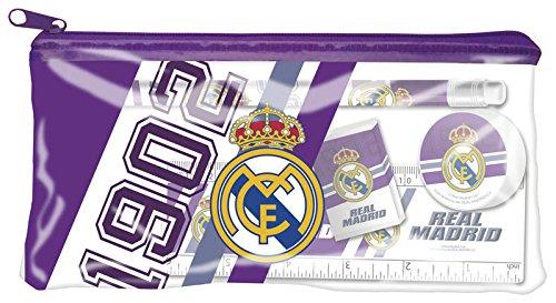 Estuche portatodo con material escolar de Real Madrid (2/36)