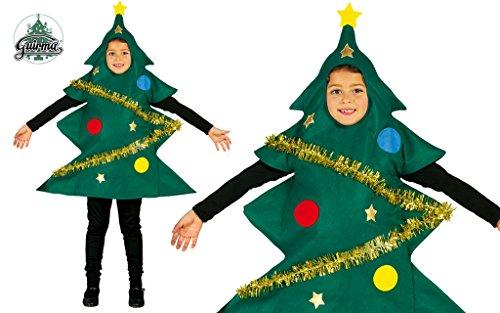 Costume da albero di Natale bambino 3-4 anni