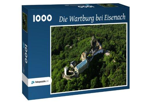 Die Wartburg bei Eisenach - Puzzle 1000 Teile mit Bild von oben
