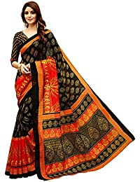 TRUNDZ Women's Pure Cotton Embroidered Saree Partywear/Wedding Saree/Casual Wear Saree With Blouse Piece