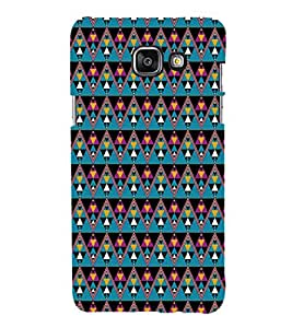 EPICCASE cris cross Mobile Back Case Cover For Samsung Galaxy A3 (2016) (Designer Case)