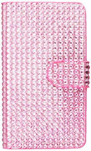 MYBAT MyJacket Wallet Bookstyle für Nokia Lumia 521 mit Kartenfächern, in Verkaufsverpackung, Pink Diamonds (Nokia-handy-fall 521)