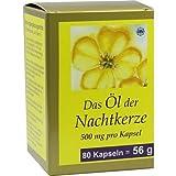 NACHTKERZE ÖL Kapseln 500 mg 80 St Kapseln