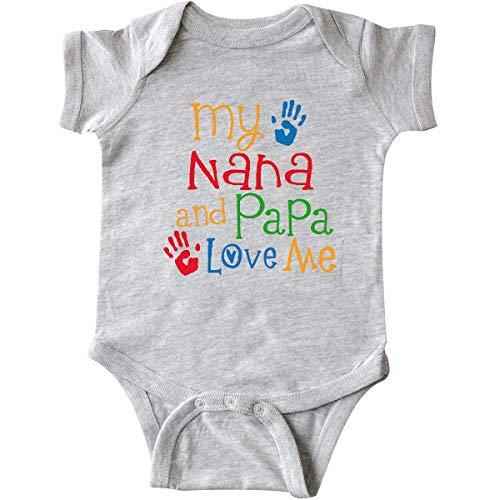 Nana and Papa Love Me Grandchild Infant ()