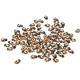 Environ 100Petite en bois Coccinelle éponge Autocollant Ladybug Autocollant, abeille, Small