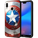 CellKraft 101197 Licensed Marvel Captain America Sheild Hard Back Case Mobile Cover for Redmi 6 Pro (Multicolor)