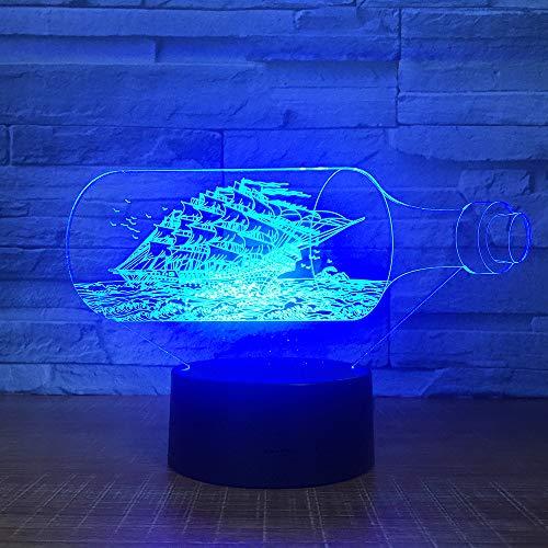 Hund Pfote Fernbedienung Touch 3D Tischlampe LED bunte schöne Hundeabdrücke Nachtlicht Schlafzimmer Dekor USB Baby Schlaf Beleuchtung ## 5