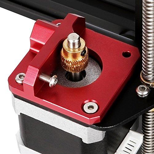 TopDirect 1.75mm Filamento MK8 Bowden Extrusor Bloque de marco para impresora 3D CR-10, CR-10 S4, CR-10 S5, CR-10 Mini, CR-10S, CR-10 Plus, Ender 3 (Versión Zurdo)