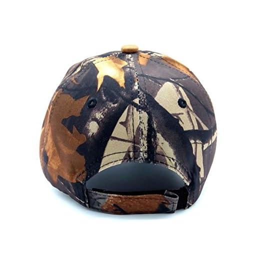 BAITER Berretto da baseball Unisex Camouflage sole Simplicity – Outdoor Uomo  Pesca Cappello Woodland Camo tattico con visiera per trekking e caccia 16b695be4957