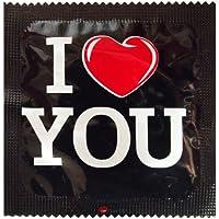 I Luv LTD I Heart You Neuheit Condom 3er Pack preisvergleich bei billige-tabletten.eu