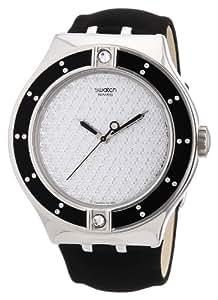 Swatch - YNS108 - Montre Femme - Quartz Analogique - Bracelet Plastique Noir