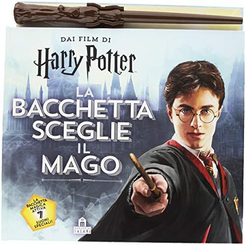 La bacchetta sceglie il mago. Harry Potter. Con gadget