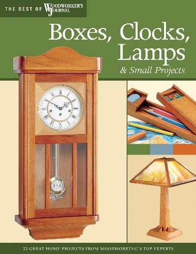 Boxes, Clocks, Lamps, and Small Projects: Over 20 Great Projects for the Home from Woodworking's Top Experts (The Best of The Woodworker's Journal) (English Edition)