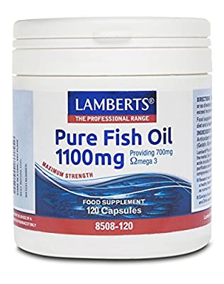 Lamberts High Potency Fish Oils 1100mg by Lamberts