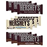 Hershey's Variety Riegel 9er Mix (3x Milk Chocolate, 3x Cookies'n Cream, 3x Cookies'n Chocolate) - insgesamt 393g