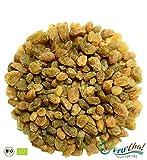 WIEDER DA!! - Fru'Cha! - BIO grüne Premium-Rosinen im Schatten getrocknet, Rohkostqualität aus kbA - 1000g