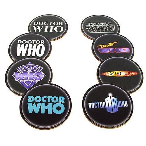 """""""Doctor Who-Sottobicchiere, confezione da 8"""