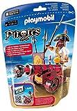 Playmobil 6163 - Rote App-Kanone mit Freibeuter