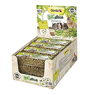 gimborn gimbi big stick seeds chamomile 70gr feed food for rodents GIMBORN Gimbi Big Stick Seeds Chamomile 70Gr Feed Food For Rodents 51HZil09lpL