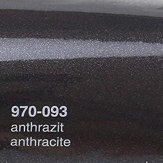 Oracal 970RA 093 Anthrazit Metallic Glanz gegossene Profi Autofolie 152cm breit BLASENFREI mit Luftkanäle