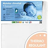 BABYCALIN - Matelas bébé hypoallergénique face été hiver - pour lit 70 x 140