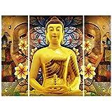 SAF 6MM Buddha Religious Panel Painting(SANFJM1262)