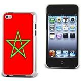 Coque iTouch 4 Drapeau du Maroc