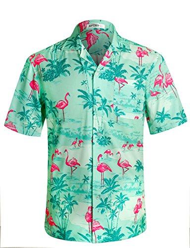 96aaf6eaecfc Zum Shop · APTRO Herren Hemd Strandhemd Hawaiihemd Kurzarm Urlaub Hemd  Freizeit Reise Hemd Party Hemd