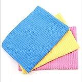 Panni per la pulizia Pulizia dei mobili Pulizia dell'auto TV Schermo del computer Pulizia Asciugamani assorbenti Panni di pulizia All-Purpose (Consegna casuale a colori) perfetto per la pulizia ( Size : 43*32 )