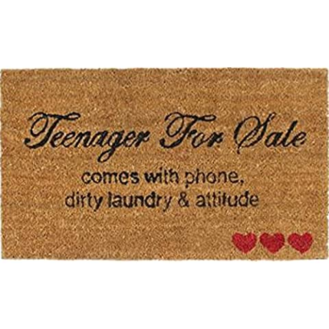 Umore - Teenager For Sale, Comes With Phone, Dirty Laundry & Attitude Zerbino (70 x 40cm)