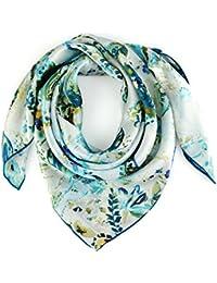 Carré de soie Premium Medusa 2 coloris - Couleur - Turquoise